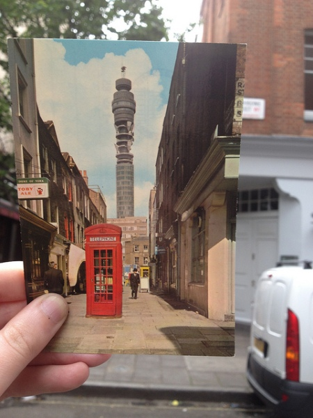 Charlotte Place then and now