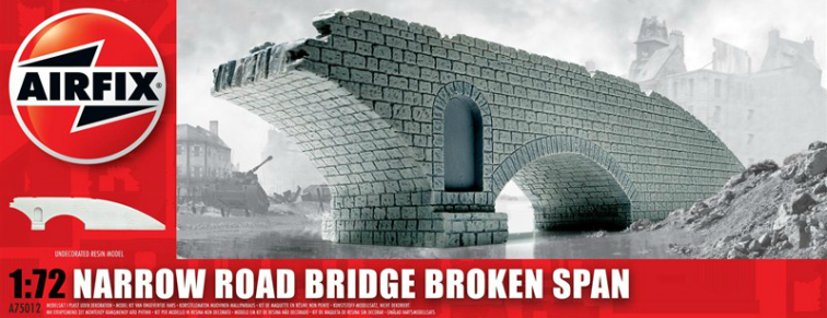 Narrow Road Bridge Broken Span