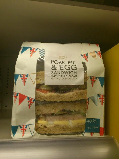Pork Pie And Egg Sandwich James Ward I Like Boring Things