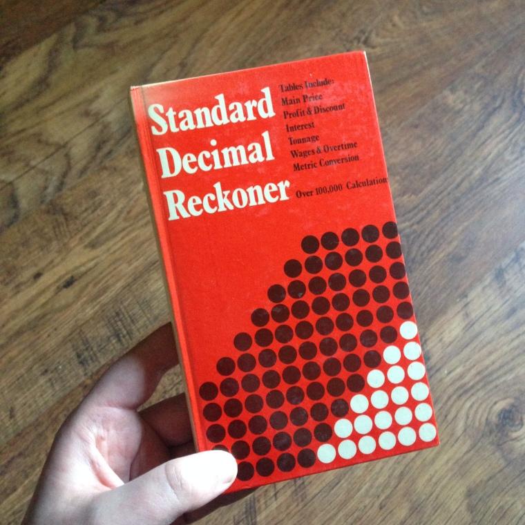 Standard Decimal Reckoner